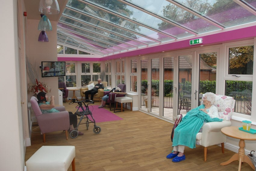 Conservatory Extention Sycamore Lodge Care Home