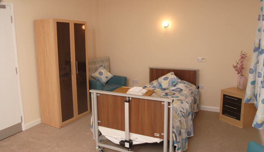 Residents Bedroom Sycamore Lodge Care Home Scunthorpe